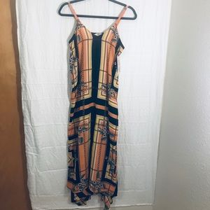 Nanette Lapore Peach&Black dress NWT